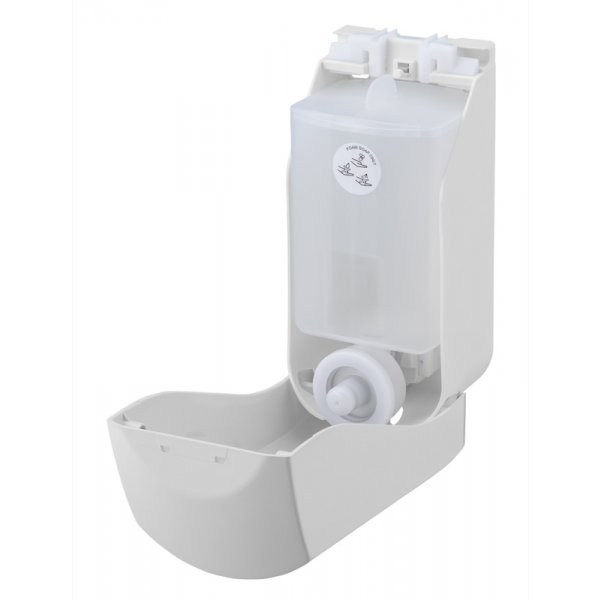 PlastiQline Schaumseifenspender 400ml Kunststoff weiß - Artikel 5509