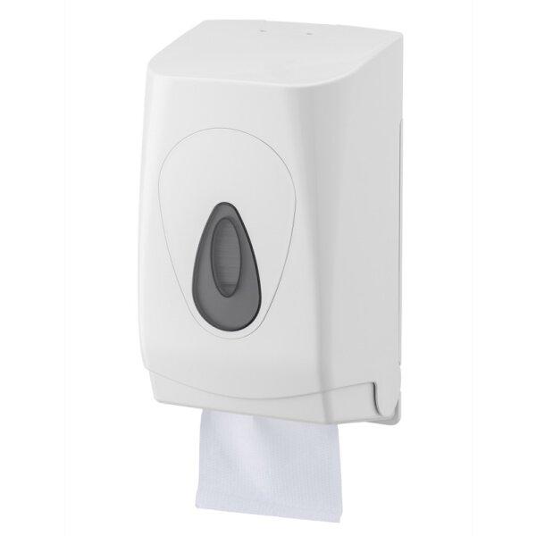 PlastiQline Toilettenpapierspender Einzelblatt Kunststoff