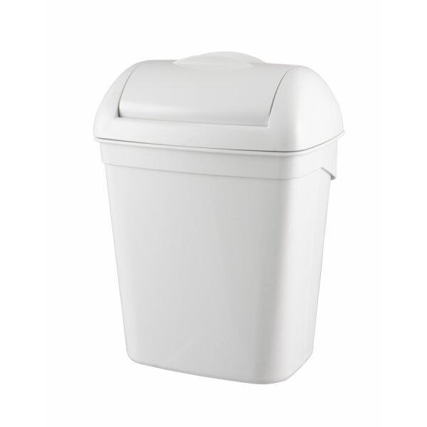 PlastiQline Hygiene-Abfallbehälter Kunststoff weiß - Artikel 5645