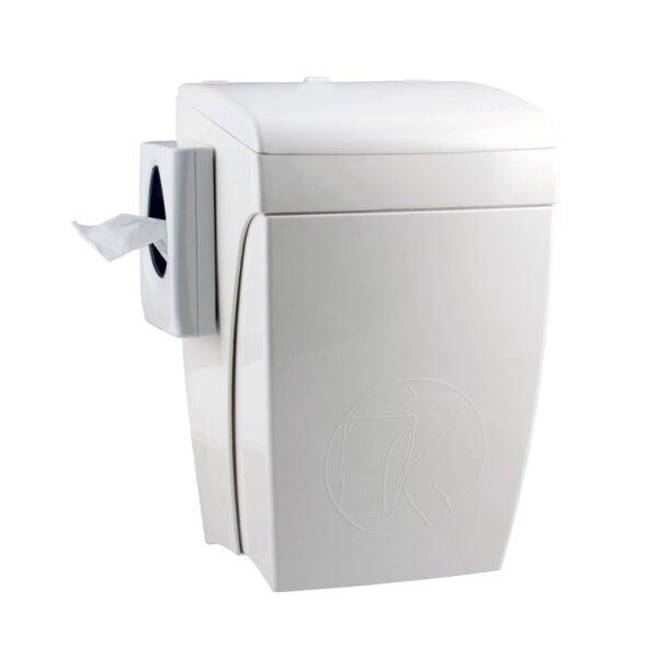Hygiene-Abfallbehälter 8 Liter, PQHBS - Artikel 5667