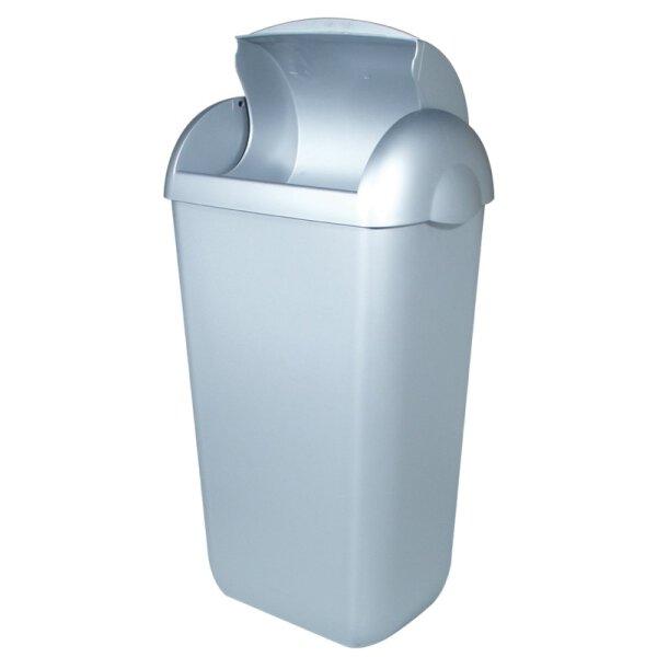 PlastiQline Hygienebehälter Kunststoff Edelstahl Optik