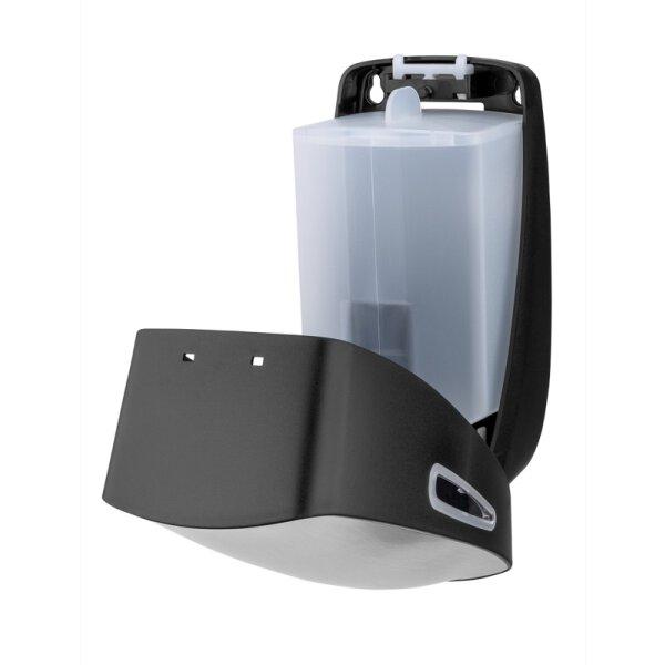 PlastiQline Exclusive Seifenspender 900ml Edelstahl/Kunststoff - Artikel 5700
