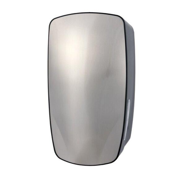 PlastiQline Exclusive Toilettenpapierspender Einzelblatt Edelstahl/Kunststoff - Artikel 5710