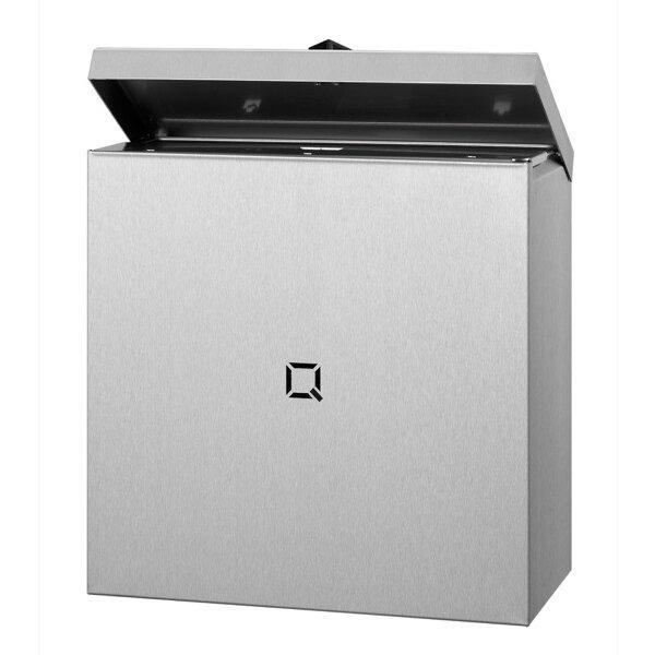 Qbic-line Hygienebehälter 9 Liter Edelstahl - Artikel 6670