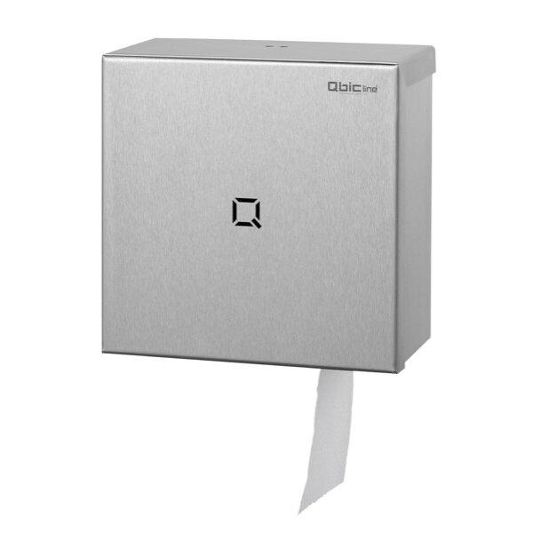 Qbic-line Gro?rollenspender mini Edelstahl - Artikel 6790