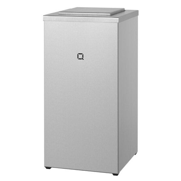 Qbic-line Abfallbehälter Edelstahl geschlossen 30  Liter - Artikel 7160
