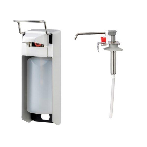 MediQo-line Desinfektion/Seifen-Spender KH 500ml  Aluminium - artikel 8000