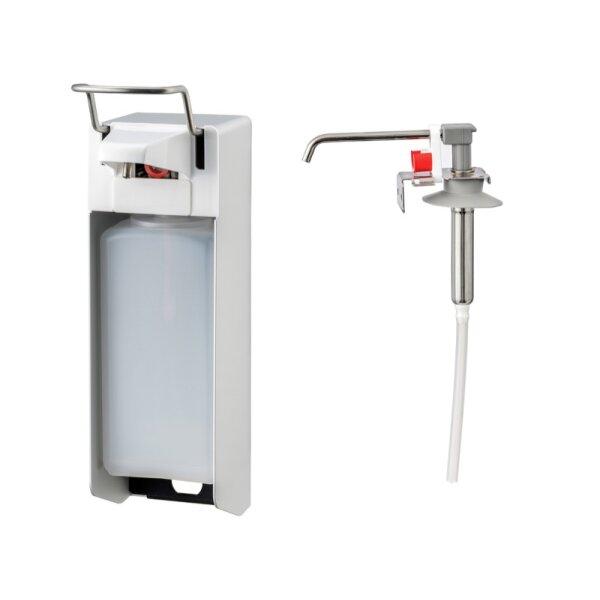 MediQo-line Desinfektion/Seifen-Spender KH 1000ml  Aluminium - artikel 8035