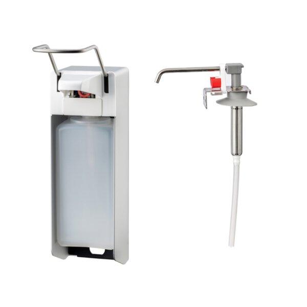 MediQo-line Desinfektion/Seifen-Spender LH 1000ml  Aluminium - artikel 8050
