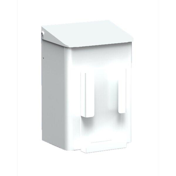 MediQo-line Hygiene-Abfallbehälter + Hygienebeutelhalter 6 Liter weiß - artikel 8245
