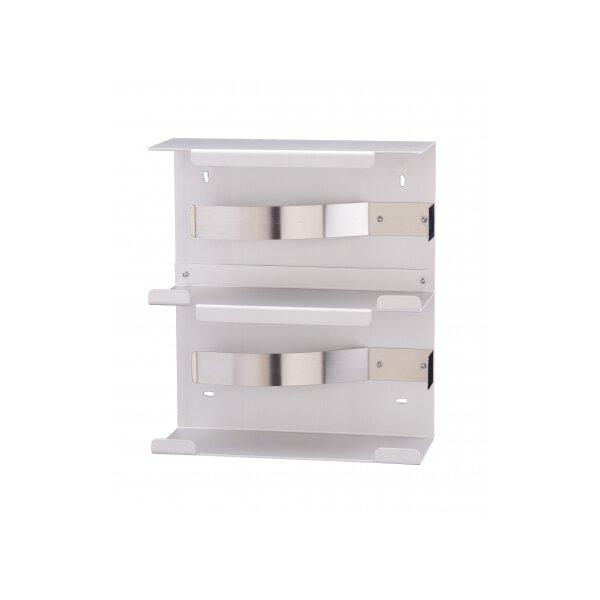 MediQo-line Handschuhspender DUO Aluminium - artikel 8485