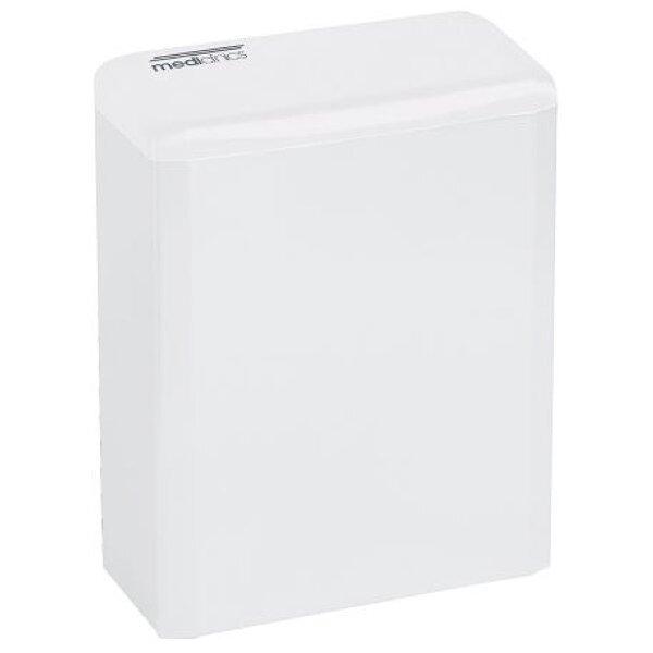 Mediclinics Hygiene-Abfallbehälter geschlossen  6 Liter weiß - Artikel 11090