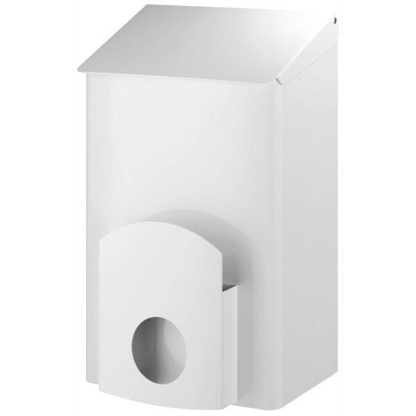 Dutch Bins Hygienebehälter +  Hygienebeutelhalter 7 Liter weiß - Artikel 13048