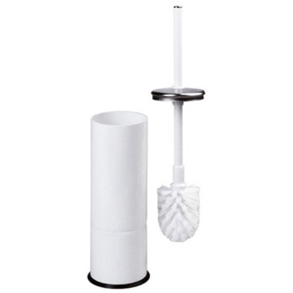 Mediclinics Toilettenbürstenhalter Stahlblech weiß - artikel 13198