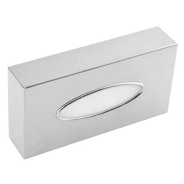 Mediclinics Kosmetiktücher-Box/ Taschentuch/ Tissue Spender Edelstahl hochglanz - Artikel 13672