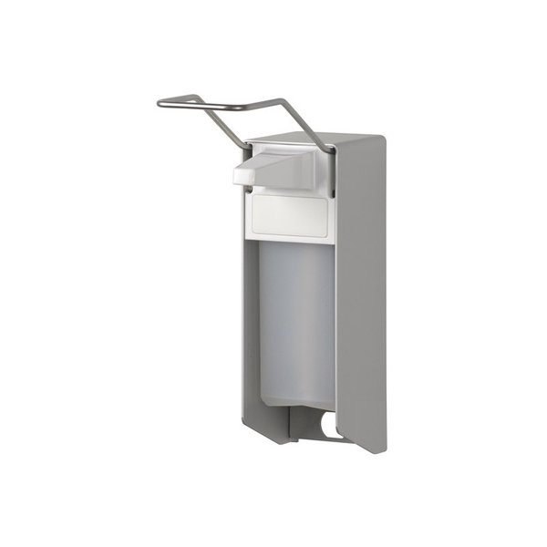 MediQo-line Desinfektion/Seifen-Spender LH 1000ml  Aluminium - ingo-man Version