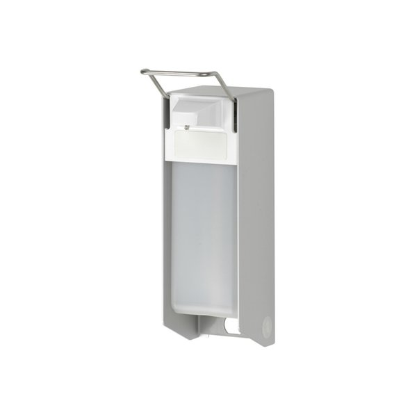 MediQo-line Desinfektion/Seifen-Spender KH 500ml  Aluminium - ingo-man Version