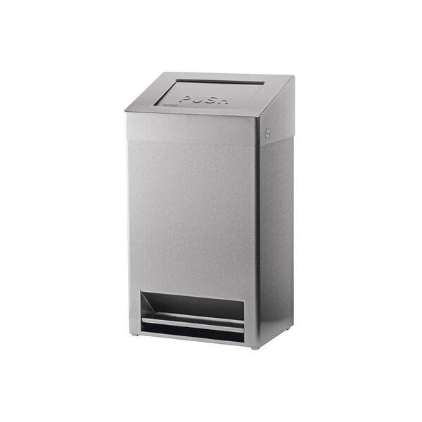 SanTRAL Abfallbehälter geschlossen mit Fu?bedienung 40 Liter