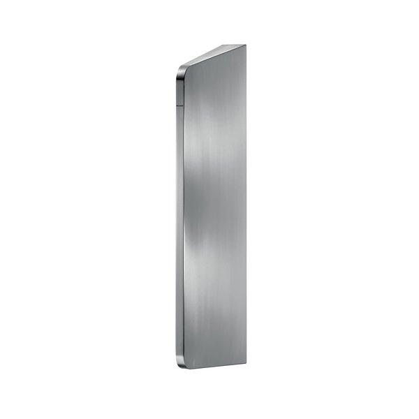 Urinal-Schamwand LISO XL Edelstahl 1.4301 satiniert