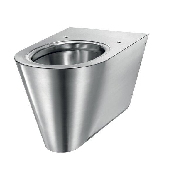 WC S21 S wandh. Anschl. von hinten Edst. 1.4301 satiniert