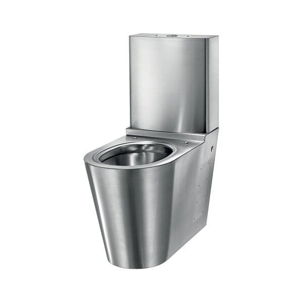 WC MONOBLOCO S21 mit Spülkasten Edst. 1.4301 satiniert