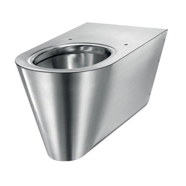 WC 700 S wandh. Anschl. von hinten Edst. 1.4301 satiniert