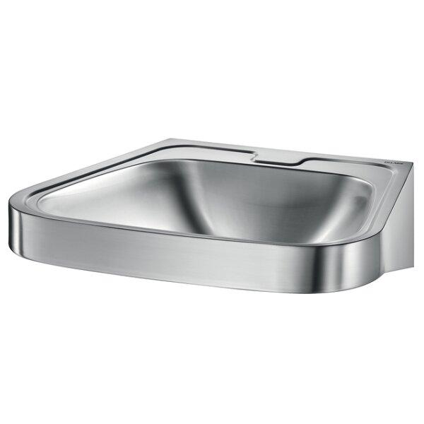 Waschtisch FRAJU ohne Hl. ohne Überlauf Edst. 1.4301 sat
