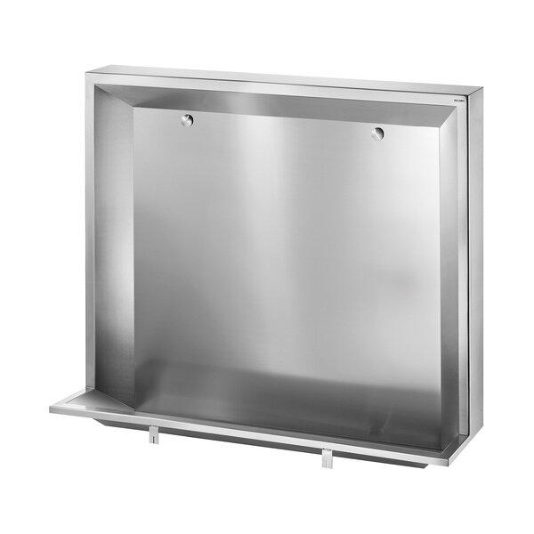 Urinalrinne L bodenst. L1200 Anschl. hi. Edst. 1.4301 sat