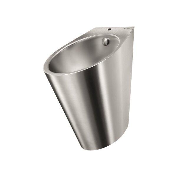 Urinal FINO wandh. Anschl. von oben Edst. 1.4301 satiniert