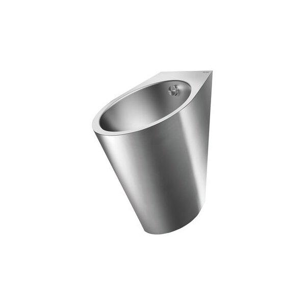 Urinal FINO wandh. Anschl. von hinten Edst. 1.4301 sat