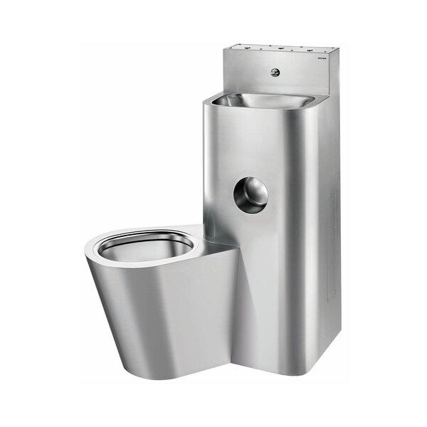 Gef.Kombi KOMPACT TWW/TW, WT WC bodenst. li Edst. 1.4301 sat