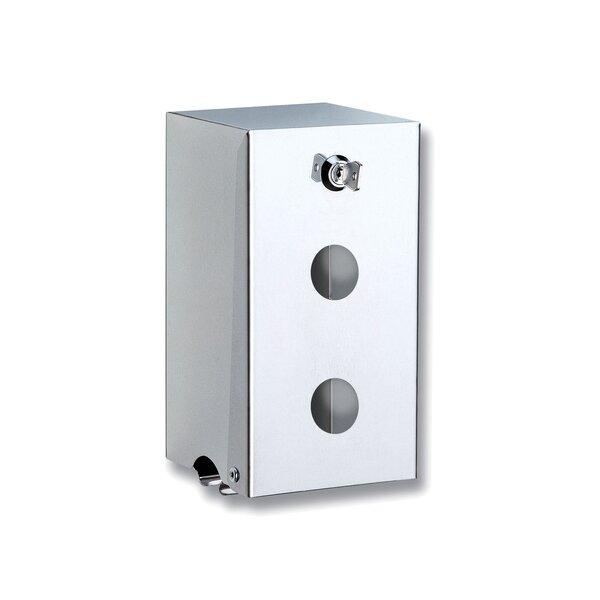WC-Papierhalter für 2 Rollen, Edelstahl hochglanzpoliert