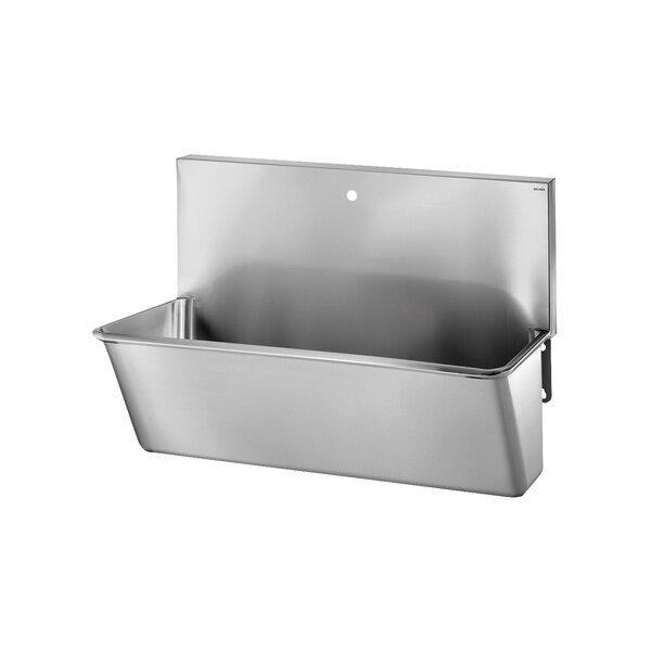 OP-Waschrinne L700 1 Hl. D 22 mm Edst. 1.4301 sat