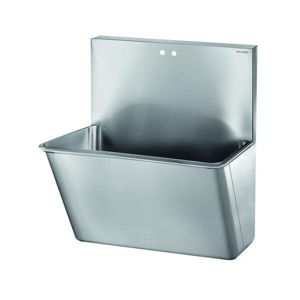 OP-Waschrinne HYGIENE L700 2 Hl. D22 MA150 Edst. 1.4301 sat