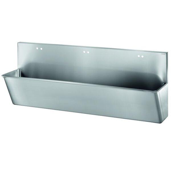 OP-Waschrinne HYGIENE L2100 6 Hl. D22 MA150 Edst. 1.4301