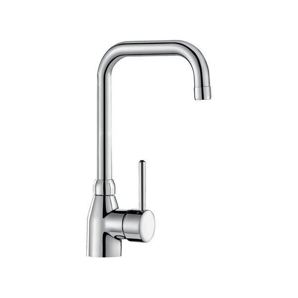 Einhebelmischer für Waschtisch, Schwenkauslauf H. 220 L. 200 mm ohne Ablaufgarnitur