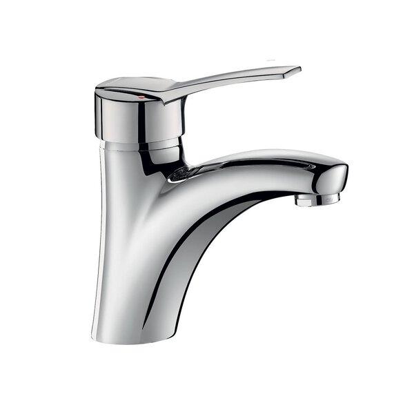 Einhebelmischer für Waschtisch, H. 85 L. 135 mm, Zugstangenablaufgarnitur,Bedienhebel