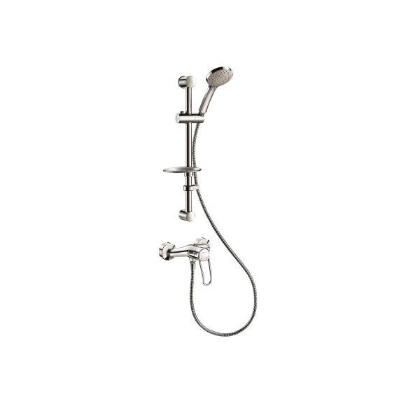 Duschsystem mit Armatur 2539EP, S-Anschlüsse STOP/CHECK
