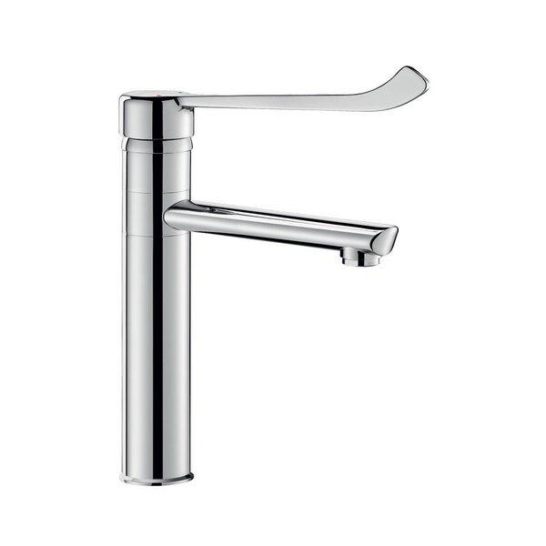 Einhebelmischer Schwenkauslauf L160 H165mm Hygienehebel