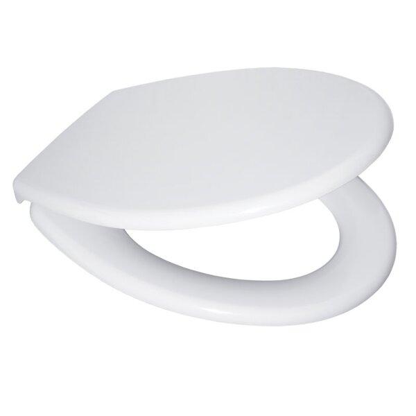 Duroplast WC Sitz mit Edelstahlscharnieren