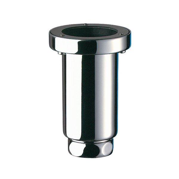 Siphon vertikal SIPHURINOIR D50/32 H 115 mm Messing verchromt