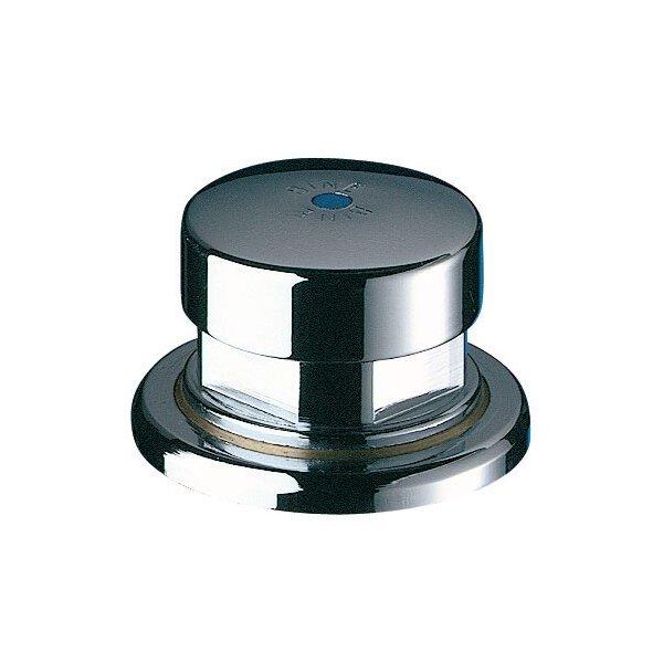 Druckknopfbetätigung für Trinksprudler, Anschluss Rilsanschlauch 4x6 mm