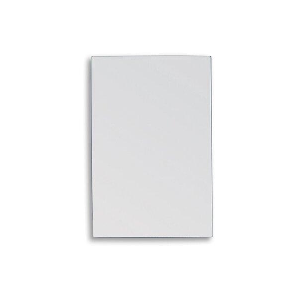 Spiegel bruchsicher 10 x 385 x 485 mm Edelstahl spiegelpoliert