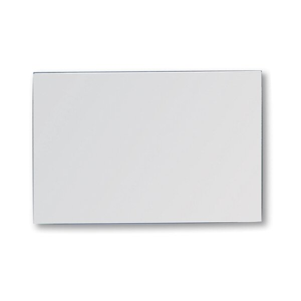 Spiegel bruchsicher 1 x 400 x 600 mm Edelstahl hochglanzpoliert