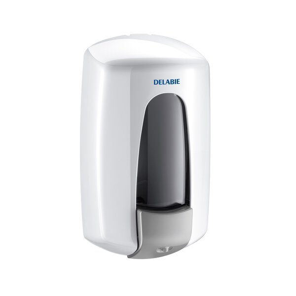 Flüssigseifenspender HYPERECO 0,9 l ABS weiß