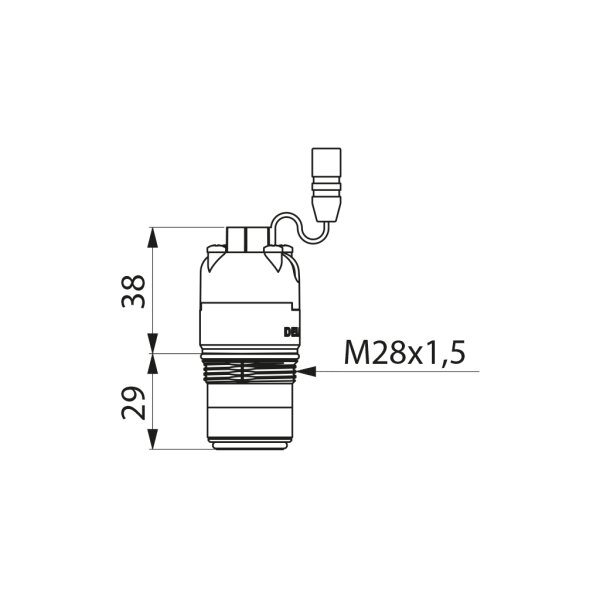 Magnetventil 6V für TEMPOMATIC 4 Urinalspüler Unterputz