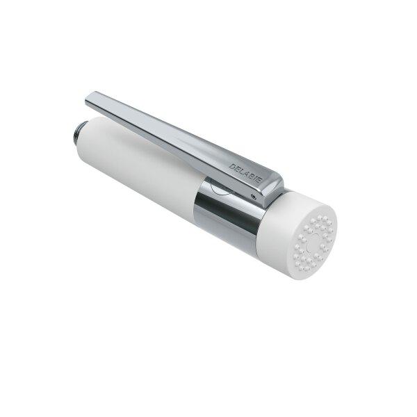 Handbrause Hebelbetätigung verkalkungsarm weiß H.208, einstellbarer Strahl