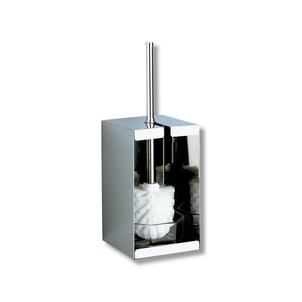 WC-Bürstengarnitur Wand- oder Stand-Montage Edelstahl hochglanzpoliert (Ersetzt durch Art. 4048P)