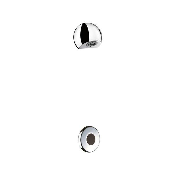Duschkombination TEMPOMATIC G1/2B Unterputz 230/12V + ROUND DU-Kopf