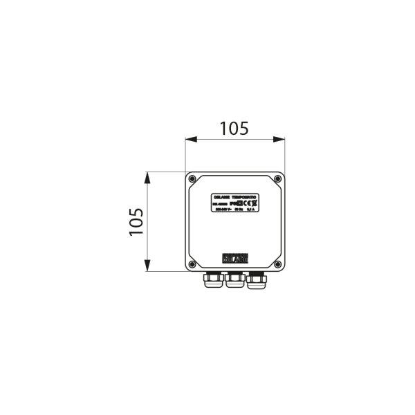 Elektronik-Box Multifunktion 230/12V für TEMPOMATIC WC mit Trafo